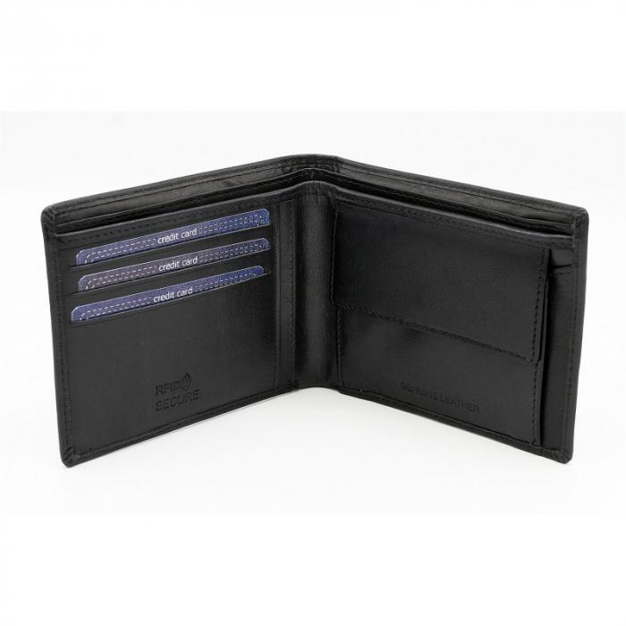Set cadou barbati, portofel si curea din piele naturala, Wild, PORM804 [2]