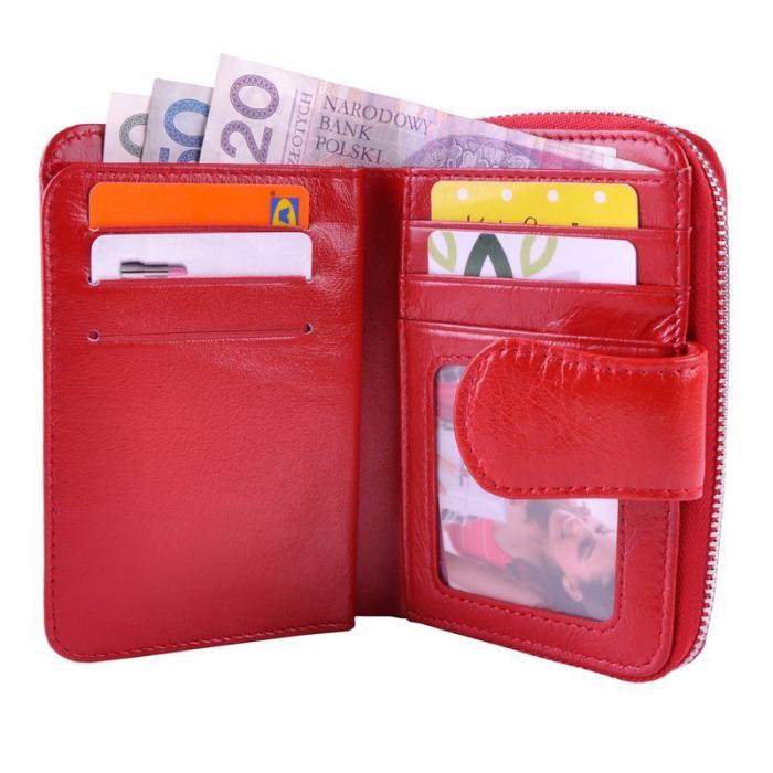 Set cadou dama Pierre Cardin, portofel si curea din piele naturala, PORMG1000 [10]