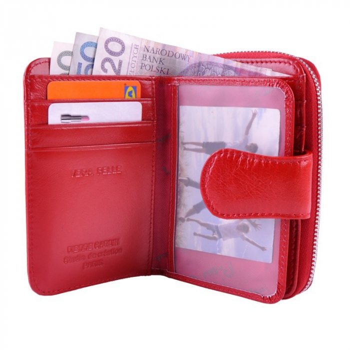 Set cadou dama Pierre Cardin, portofel si curea din piele naturala, PORMG1000 [9]