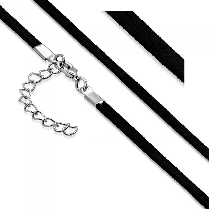 Snur negru 62 cm si 3 mm LSL0097 0