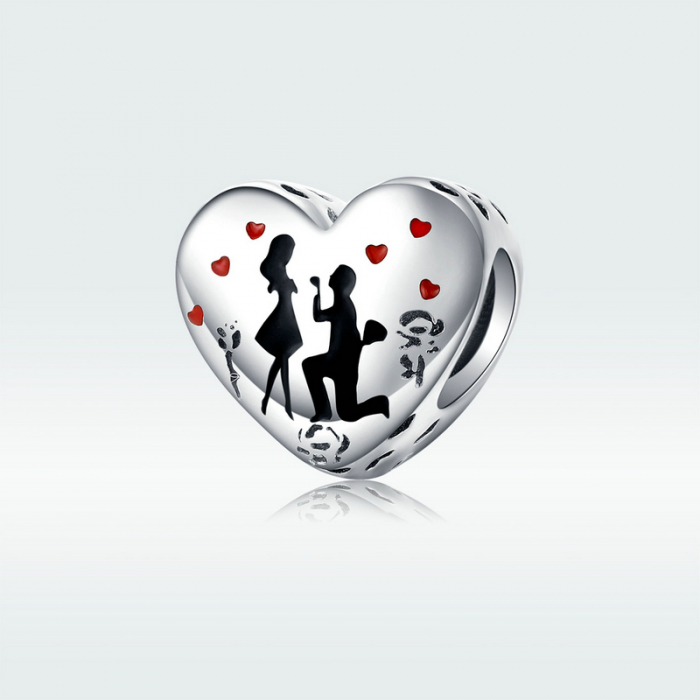 Talisman argint inima Cerere in Casatorie [4]