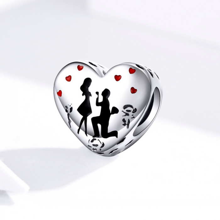 Talisman argint inima Cerere in Casatorie [2]