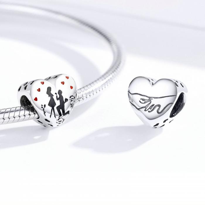 Talisman argint inima Cerere in Casatorie [1]