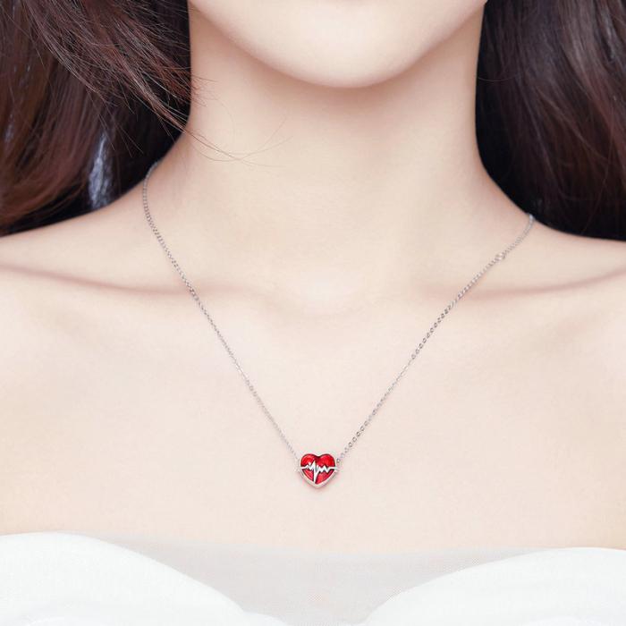 Talisman argint inima cu puls [4]