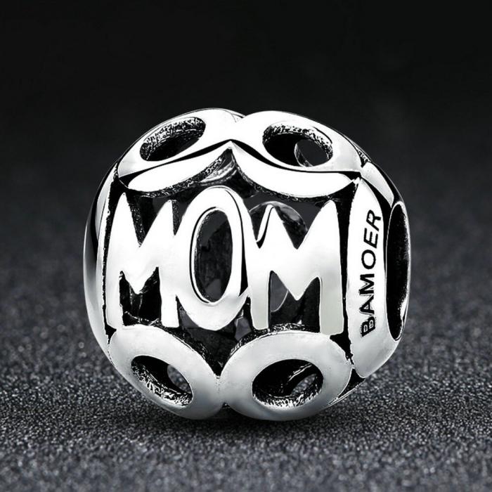 Talisman argint MOM 1