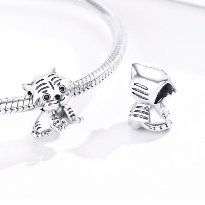 Talisman argint pui de tigru [1]