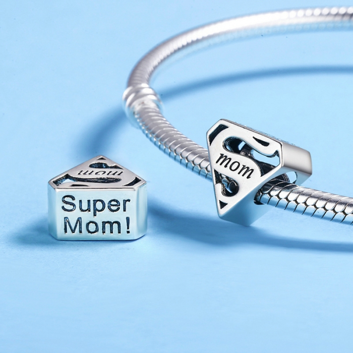 Talisman argint Super Mom 3