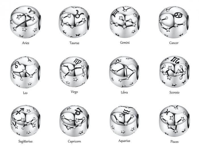 Talisman argint zodia Capricorn [3]