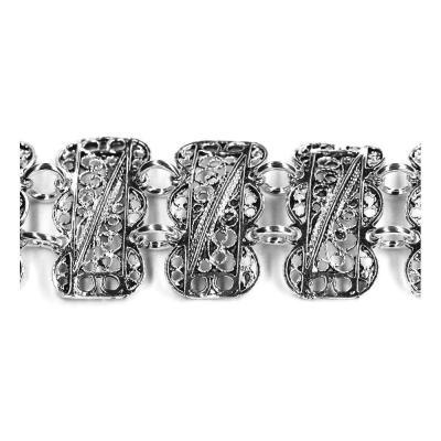 Bratara argint 925 eleganta lucrata in filigran [1]