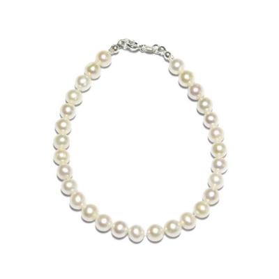 Bratara eleganta cu perle naturale si argint0