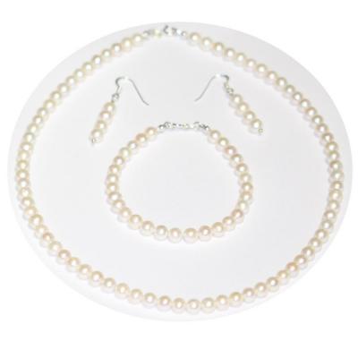 Bratara eleganta cu perle naturale si argint2
