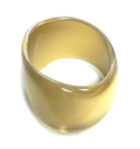 Bratara fantezie lata culoare auriu sidefat