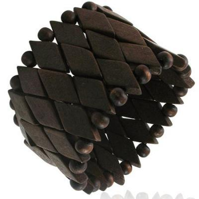 Bratara maro lata din lemn