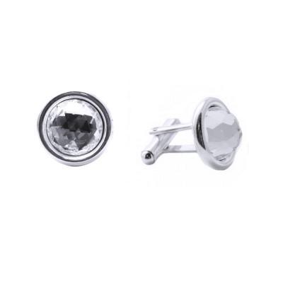 Butoni argint 925 cu swarovski elements