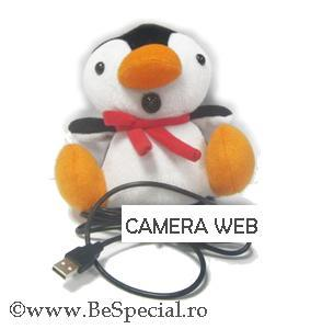 Camera web USB pinguin
