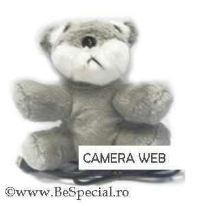 Camera web USB ursulet de plus
