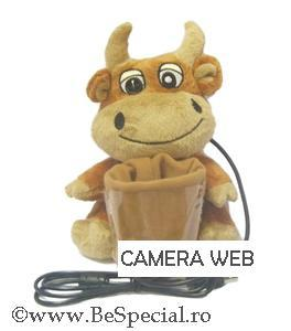 Camera web USB vacuta haioasa cu suport creioane