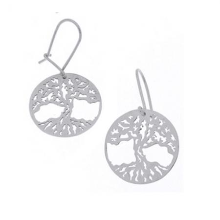 Cercei argint 925 cu copacul vietii - Be Nature EBU0029