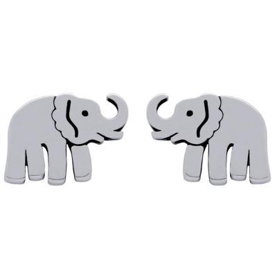 Cercei argint 925 cu elefanti1