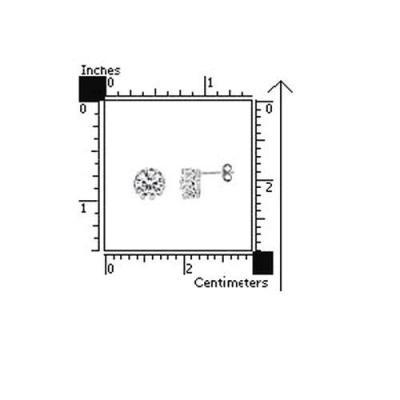 Cercei argint 925 eleganti cu zirconii stil coroana [2]