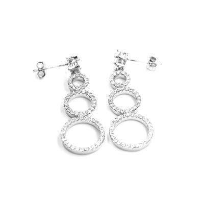 Cercei eleganti argint 925 cu zirconii translucide1