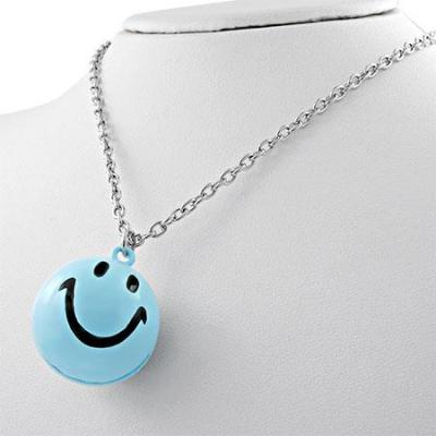 Colier cu pandantiv smiley face1