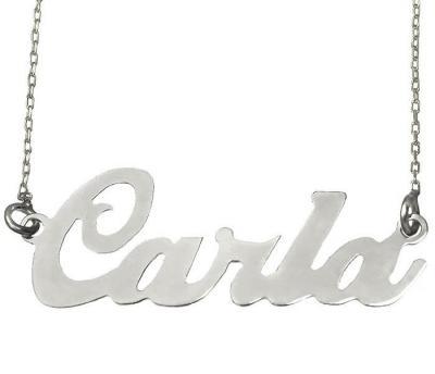 Colier din argint 925 personalizat cu nume