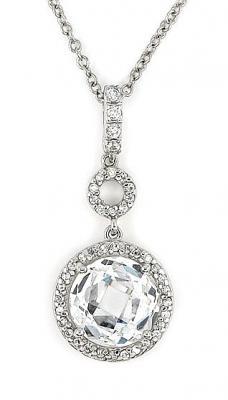 Colier elegant din argint 925 rodiat cu zirconii1