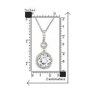 Colier elegant din argint 925 rodiat cu zirconii2