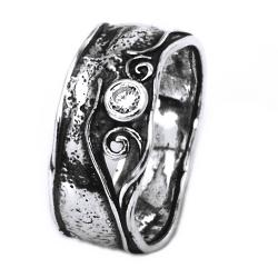Inel argint 925 model Israel cu zirconiu