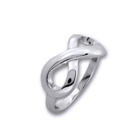 Inel argint 925 rodiat cu simbolul infinit - Infinite You IBU0032