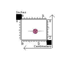 Inel argint 925 cu zirconii roz2