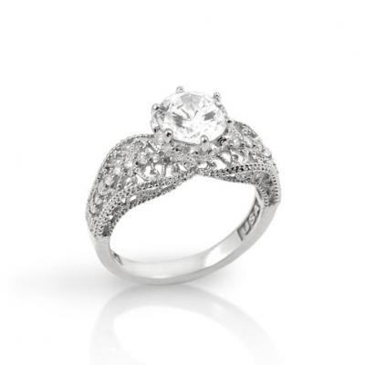 Inel argint 925 elegant cu zirconii [0]