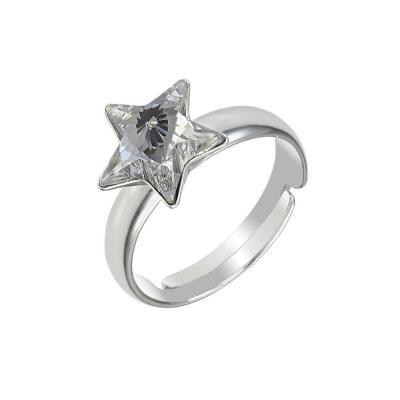Inel argint 925 stea cu swarovski elements