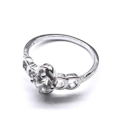Inel elegant din argint 925 rodiat cu zirconii1