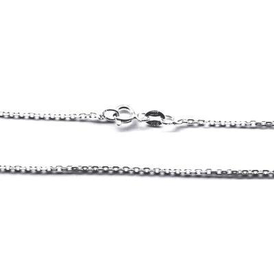 Lant argint 925 cu zale ovale 40 cm1