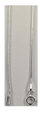 Lant argint 925 rodiat model sarpe 46 cm2