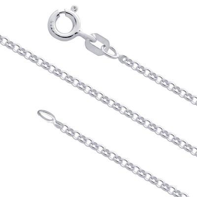 Lant lung din argint 925 latime 2 mm LSX0102