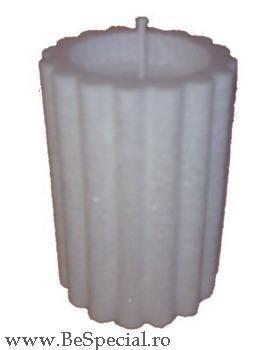 Lumanare naturala candela model marmorat