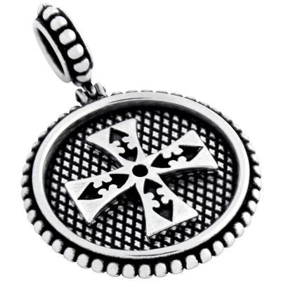 Medalion argint 925 cu cruce malteza PSX0436