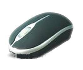 Mouse optic elegant negru cu mufa USB