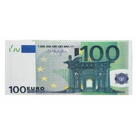 Portbancnota piele ecologica 100 EURO  PBA04 Multicolor