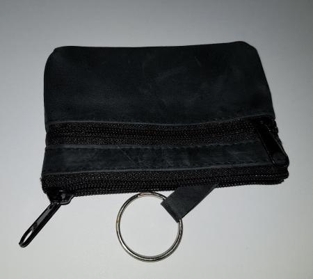 Portchei negru mic cu 2 compartimente Wild PCH32 Negru