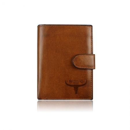 Set cadou barbati (portofel + curea) din piele naturala Wild BuffalOPORM6362