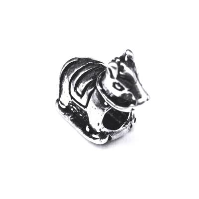 Pandant argint 925 calut pentru bratara tip charm1