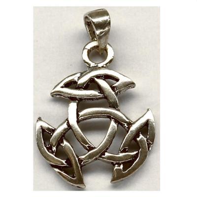 Pandant argint 925 cu simbolul trinity0