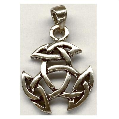 Pandant argint 925 cu simbolul trinity1