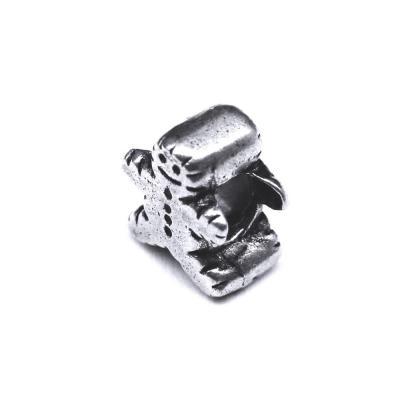 Pandant argint 925 om turta dulce pentru bratara tip charm1