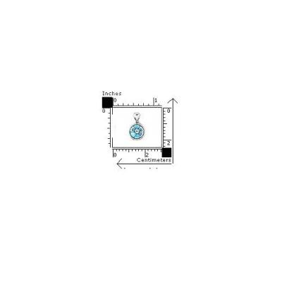 Pandant argint 925 si sticla de Murano rotund1