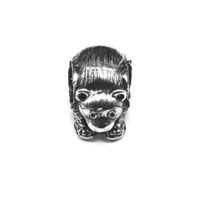 Pandant argint 925 urs pentru bratara tip charm0